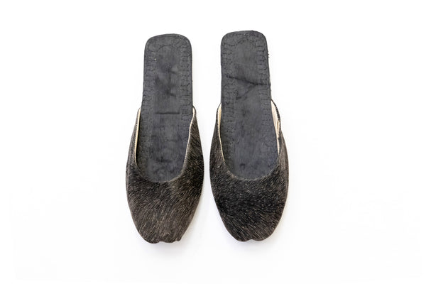 Black Threaded - Women's Shoes - South Asian Fashion & Unique Home Decor