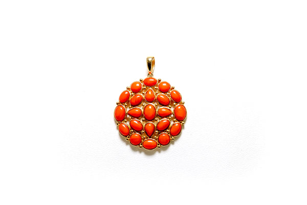 Orange Pendant - South Asian Fashion & Unique Home Decor