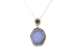Turkish Silver Necklace - South Asian Fine Gemstone Jewelry