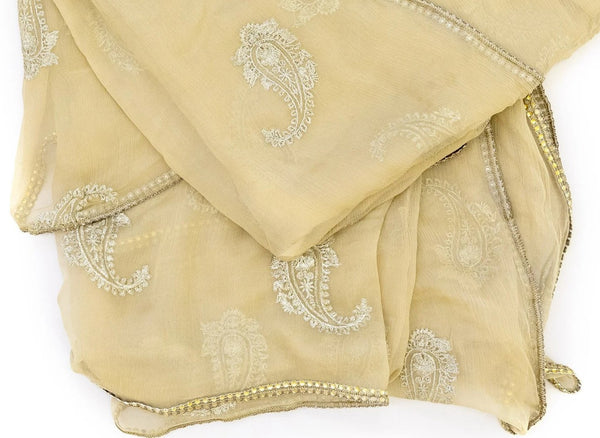 Chiffon Dupatta - Scarf - South Asian Accessories & Outerwear