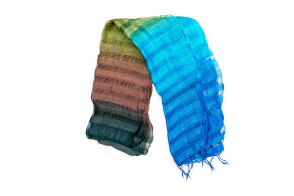 Multi-Colored Dupatta - Scarf - South Asian Accessories & Outerwear