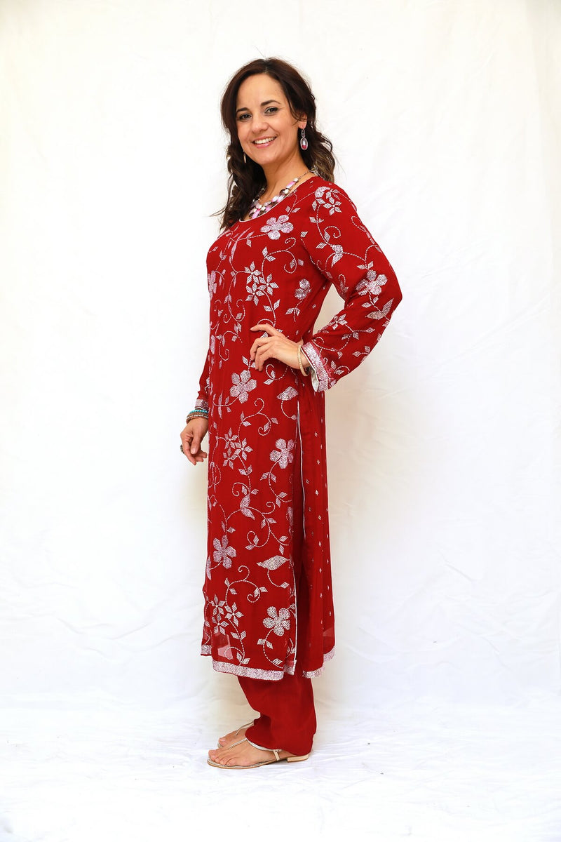 Hand Embroidery Dress Shalwar Kameez - Trendz & Traditionz Boutique