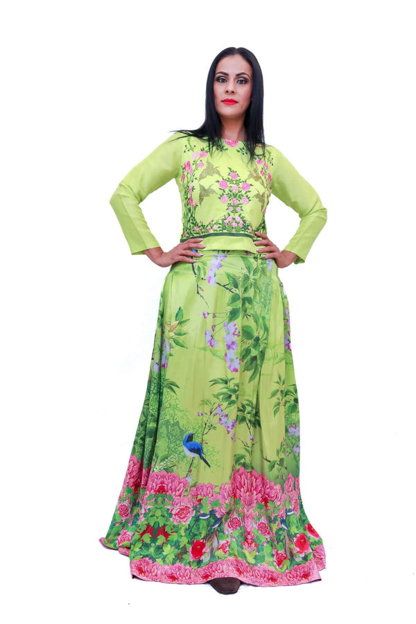 Pakistani Skirt & Shirt - Trendz & Traditionz Boutique