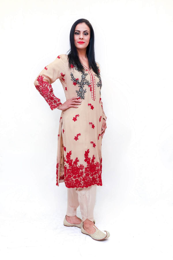 Indian Embroidery Dress - Trendz & Traditionz Boutique