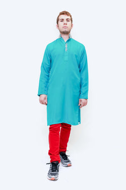 Indian Pakistani Men Silky Shirt -Trendz & Traditionz Boutique