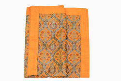 Turkish-Ottoman Orange Bed cover Trendz & Traditionz Boutique