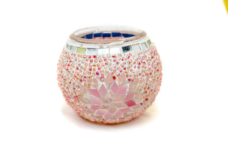 Turkish Moroccan Mosaic Candle Holder - Trendz & Traditionz Boutique