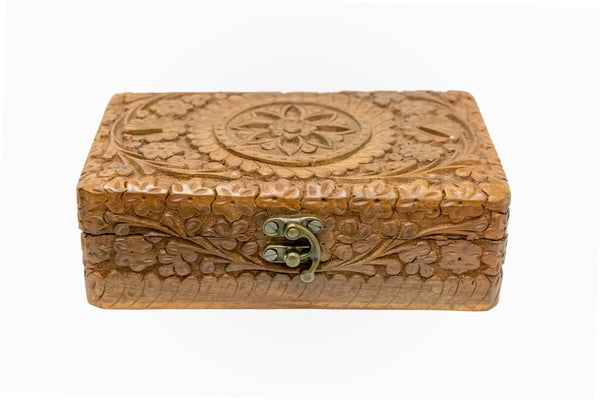 Handmade Wooden Box - Trendz & Traditionz Boutique