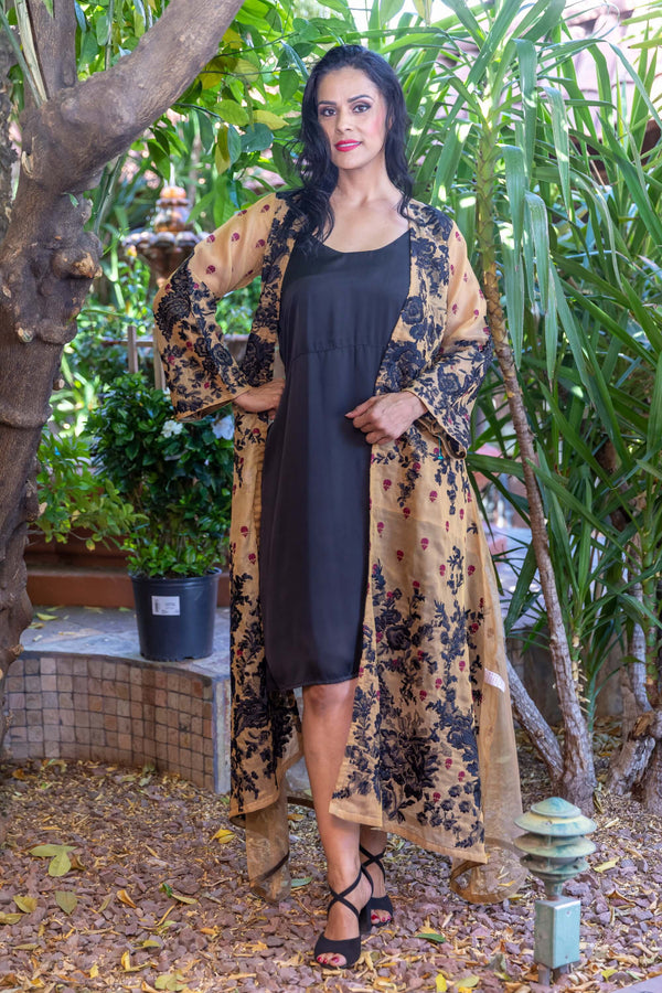 Embroidery Net Gown by Sana Safinaz- Trendz & Traditionz Boutique