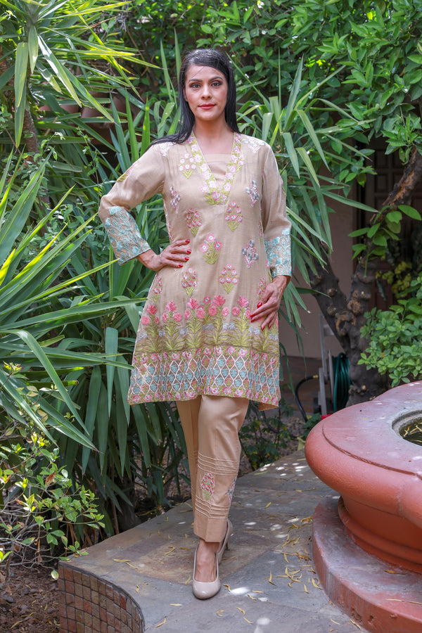 Khaadi Embroidery Suit Salwar Kameez - Trendz & Traditionz Boutique