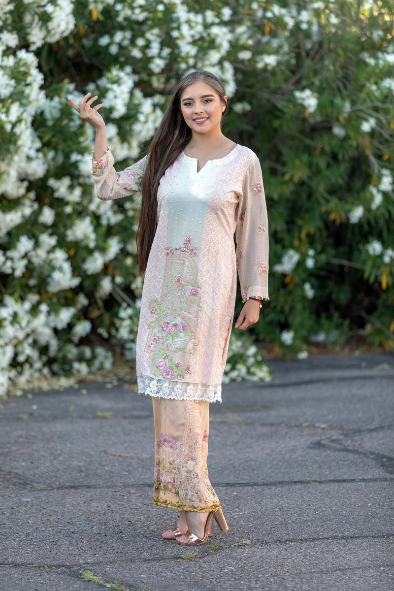 Silk Fancy Suit Salwar Kameez- Dress - Trendz & Traditionz Boutique