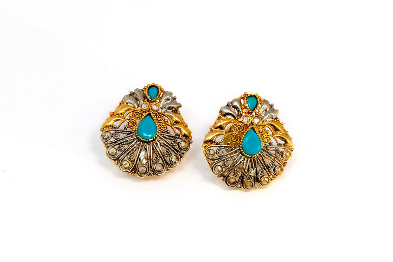 Gold and Silver Earrings - Trendz & Traditionz Boutique