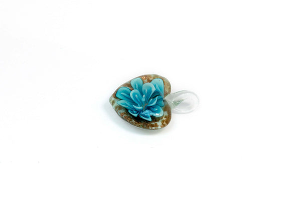 Heart Shaped Glass Pendant - Trendz & Traditionz Boutique