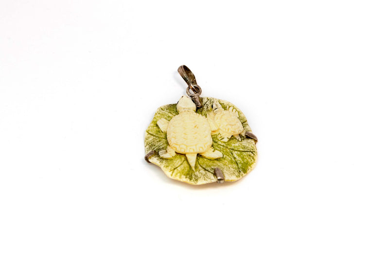 Green Turtle Pendant - Trendz & Traditionz Boutique