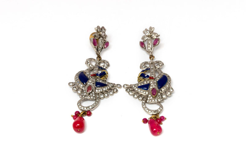 Dangling Indian Earrings - Trendz & Traditionz Boutique