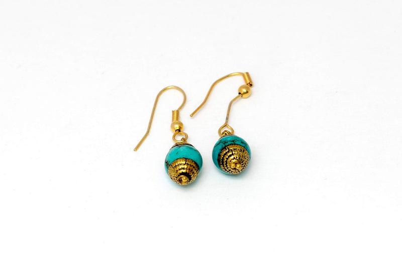 Turquoise Earrings - Trendz & Traditionz Boutique