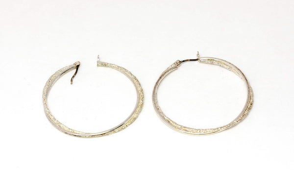 Classic Silver Hoop Earrings - Trendz & Traditionz Boutique