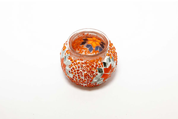 Turkish Mosaic Candle Holder - Trendz & Traditionz Boutique