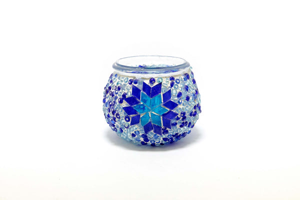 Blue Turkish Candle Holder - Trendz & Traditionz Boutique