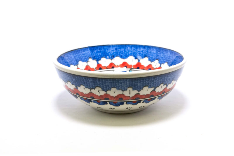 Hand Panted Bowl With Floral Design - Trendz & Traditionz Boutique