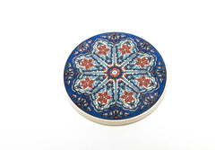 Hand Painted Turkish Ceramic Coasters - Trendz & Traditionz Boutique