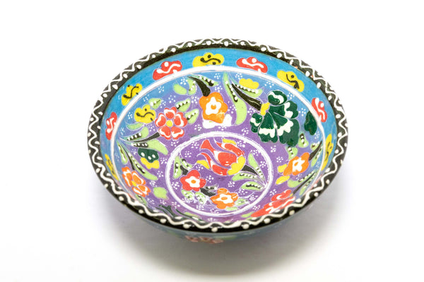 Hand Painted Turkish Ceramic Bowl - Trendz & Traditionz Boutique