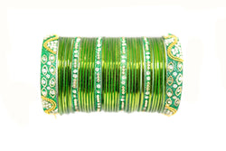 Green Metal Bracelet- Trendz & Traditionz Boutique