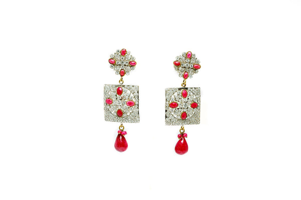 Multi Shaped Dangle Earrings - Trendz & Traditionz Boutique
