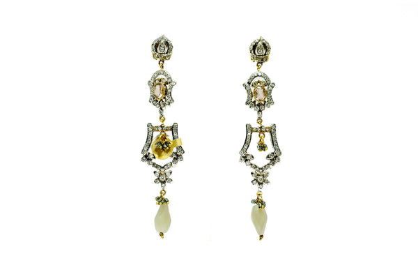 Glamours Hollywood Dangle Earrings - Trendz & Traditionz Boutique