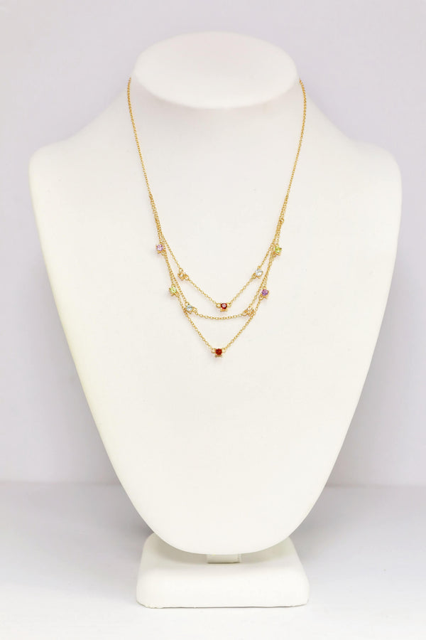 Simple Golden Necklace - South Asian Fashion & Unique Home Decor