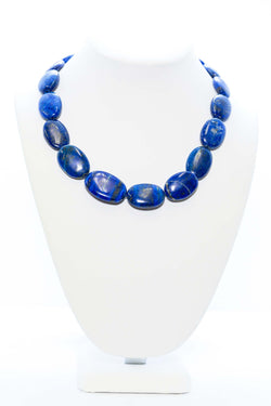 Blue Lapis Lazuli Necklace- Trendz & Traditionz Boutique