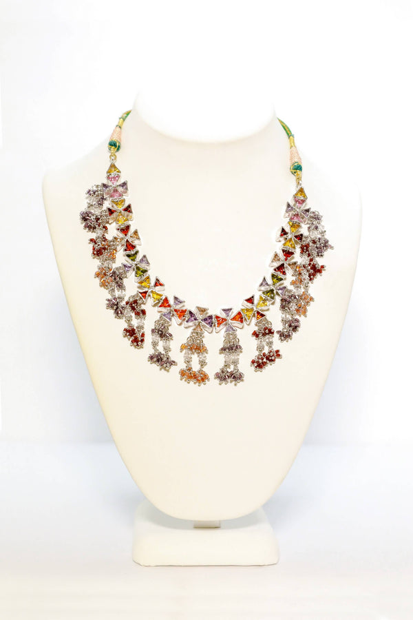 Colorful Handmade Gemstones Necklace - Trendz & Traditionz Boutique