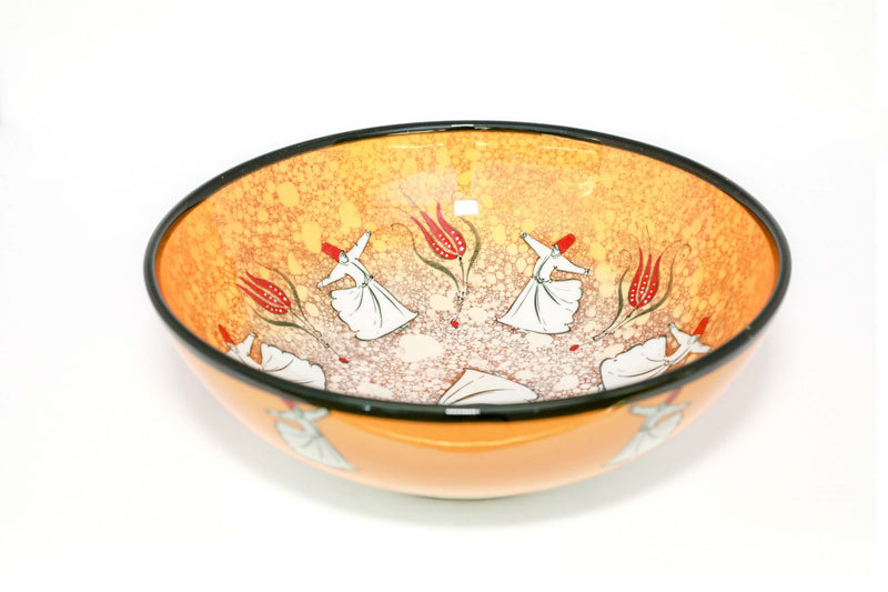 Multicolored Ceramic Turkish Hand Painted bowl - Trendz & Traditionz Boutique