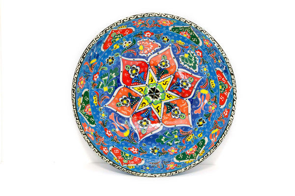 Large Turkish Ceramic Bowl - Trendz & Traditionz Boutique