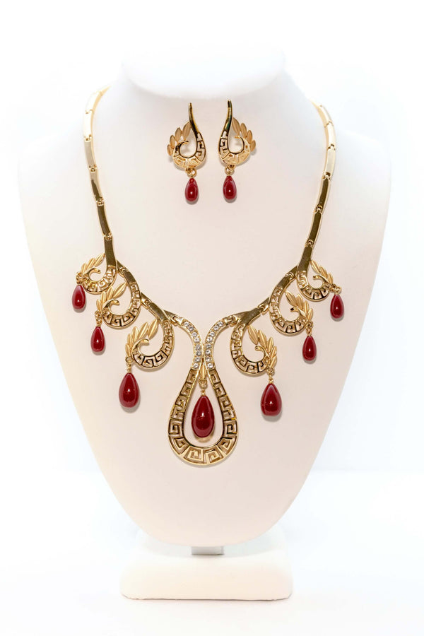 Bass Fret Necklace Set - Trendz & Traditionz Boutique