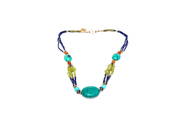 Turquoise Necklace - Trendz & Traditionz Boutique