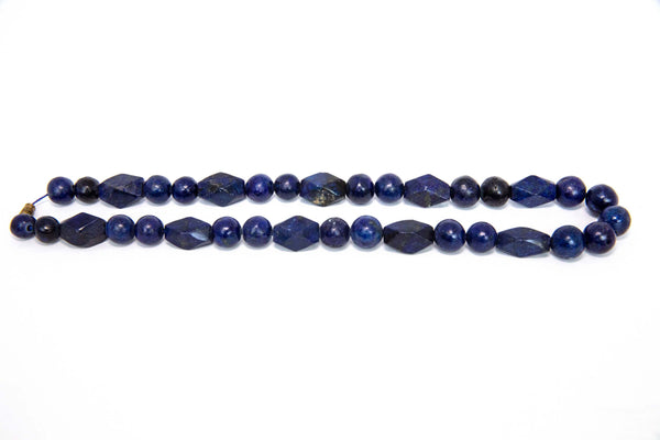 Blue Bead Necklace - South Asian Fashion & Unique Home Decor