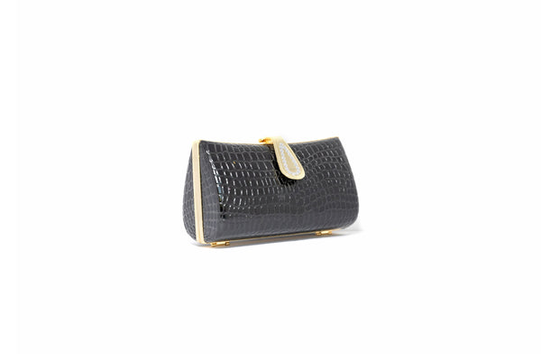 Black Clutch Purse - Trendz & Traditionz Boutique