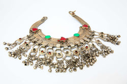 Turkish Silver Choker Necklace - South Asian Jewelry