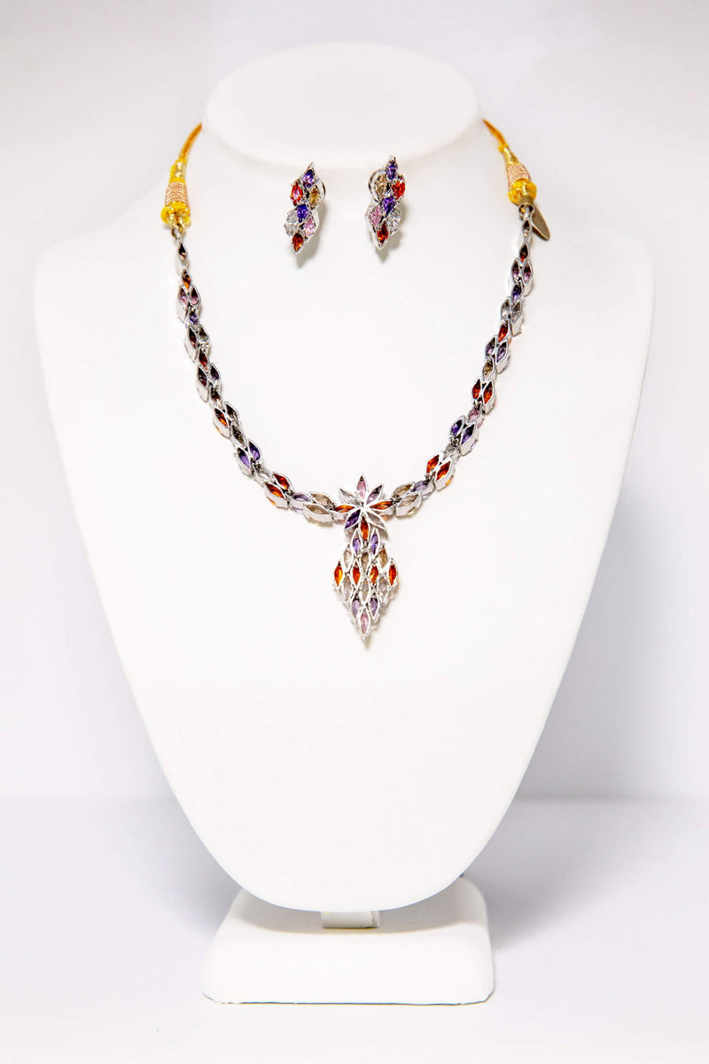Unique Necklace and Earring Set - Trendz & Traditionz Boutique