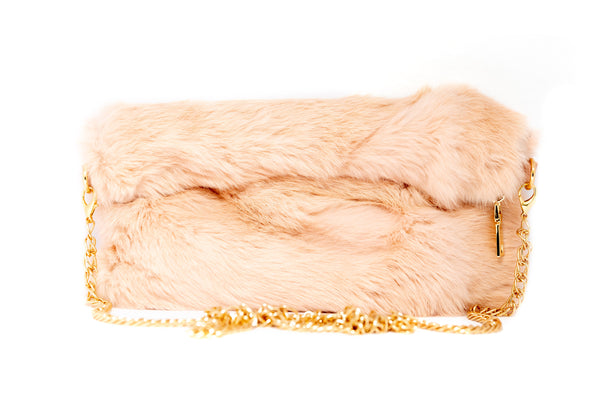 Pink Fur Purse - South Asian Fashion & Unique Home Decor