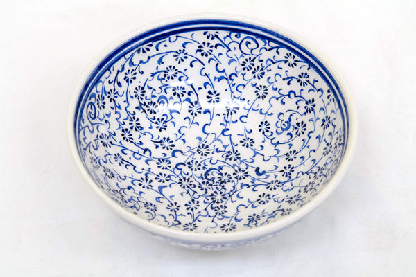Turkish Hand-Painted Bowl - Trendz & Traditionz Boutique