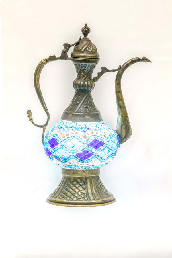 Turkish Moroccan Mosaic Lamp - Trendz & Traditionz Boutique