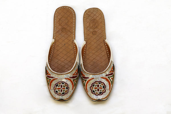 Indian Pakistani Leather Shoe Khussa- Trendz & Traditionz Boutique