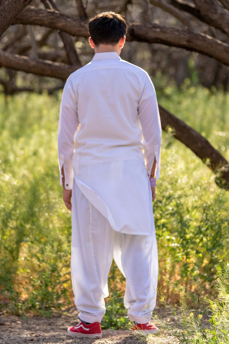 Men Cotton Suit-Salwar Kameez - Trendz & Traditionz Boutique
