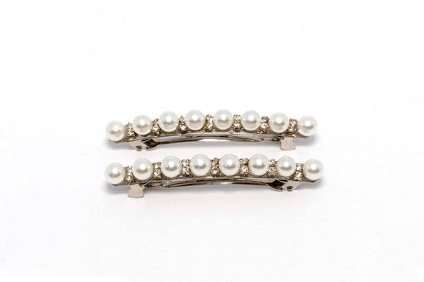 Pearl and Diamante Hair Clip Beret. - Trendz & Traditionz Boutique
