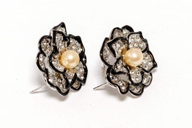 Blossoming Rose Stud Earrings - Trendz & Traditionz Boutique