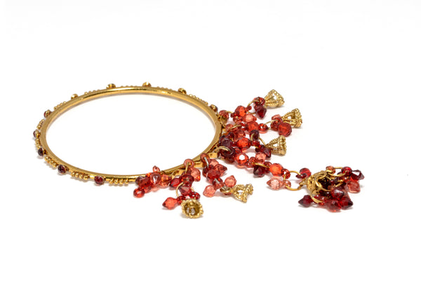 Indian Pakistani Ruby Red Bracelets - Trendz & Traditionz Boutique
