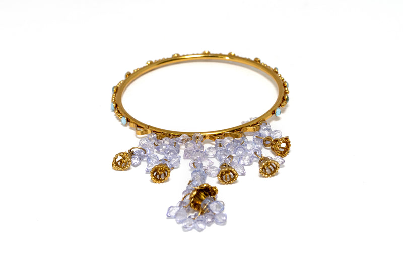 Indian Pakistani Gold Bracelet - Trendz & Traditionz Boutique