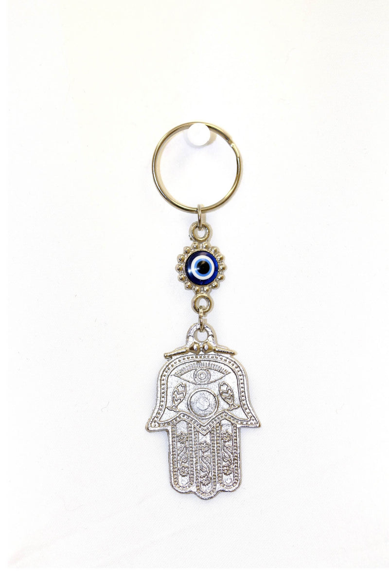 Turkish Evil Eye Hamsa Key chain - Trendz & Traditionz Boutique